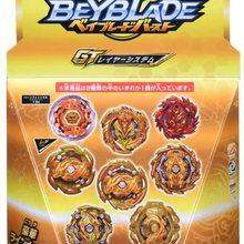 Boy Toys Beyblade Collection-Toys Gyros B-158 Takara Tomy Original of GT 8-Random-Bags