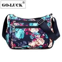 Packs Mesenger-Bags Flower Crossbody Travel Fashion-Design Casual Women's Ladies Hobos