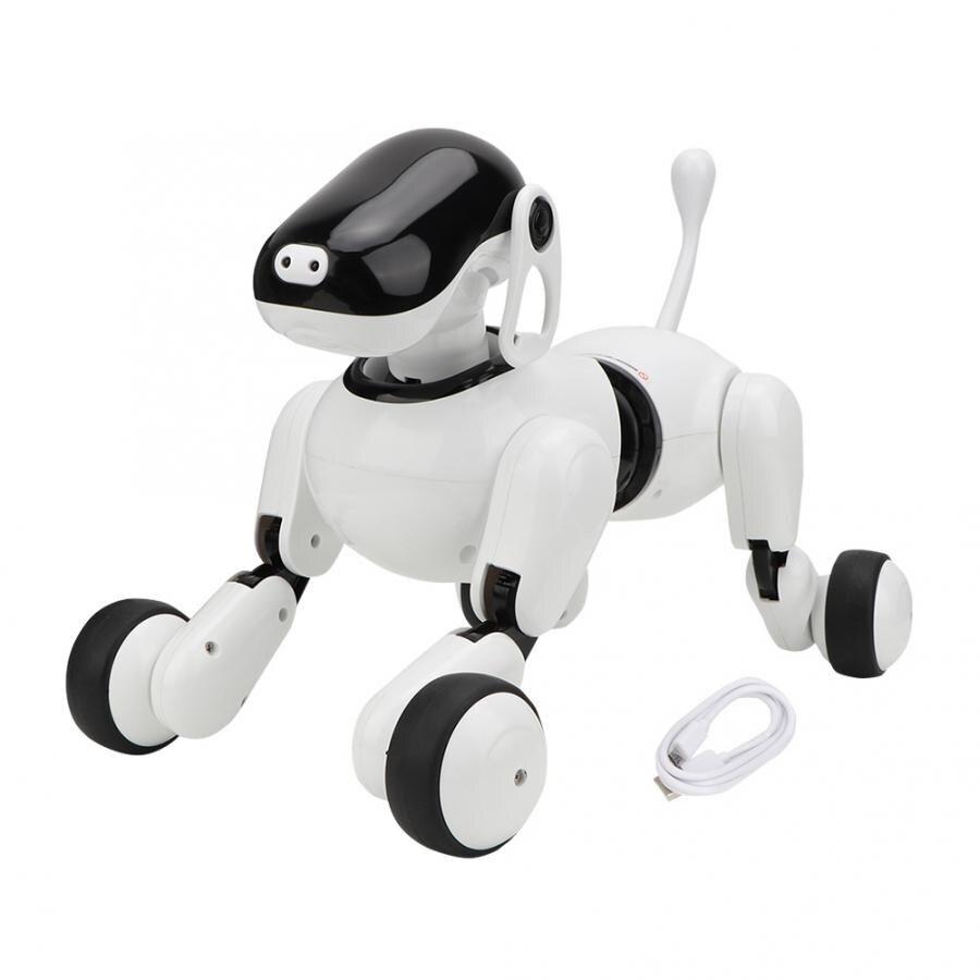 Умный электронный робот для собак, сенсорный голосовой контроль, умный говорящий робот для собак, bluetooth колонки, игрушки для домашних животных, детские рождественские подарки|Интерактивные игрушки животные|   | АлиЭкспресс