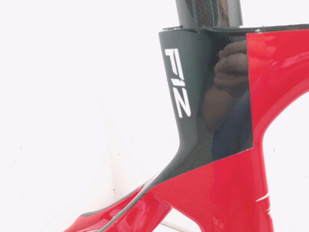 2019 T1100 Carbon Road Frame  1K Cadre De Bicyclette Carbon Disc Thru Axle Road Frame Bicicleta Carbon Bicycle Frame Bici Velo