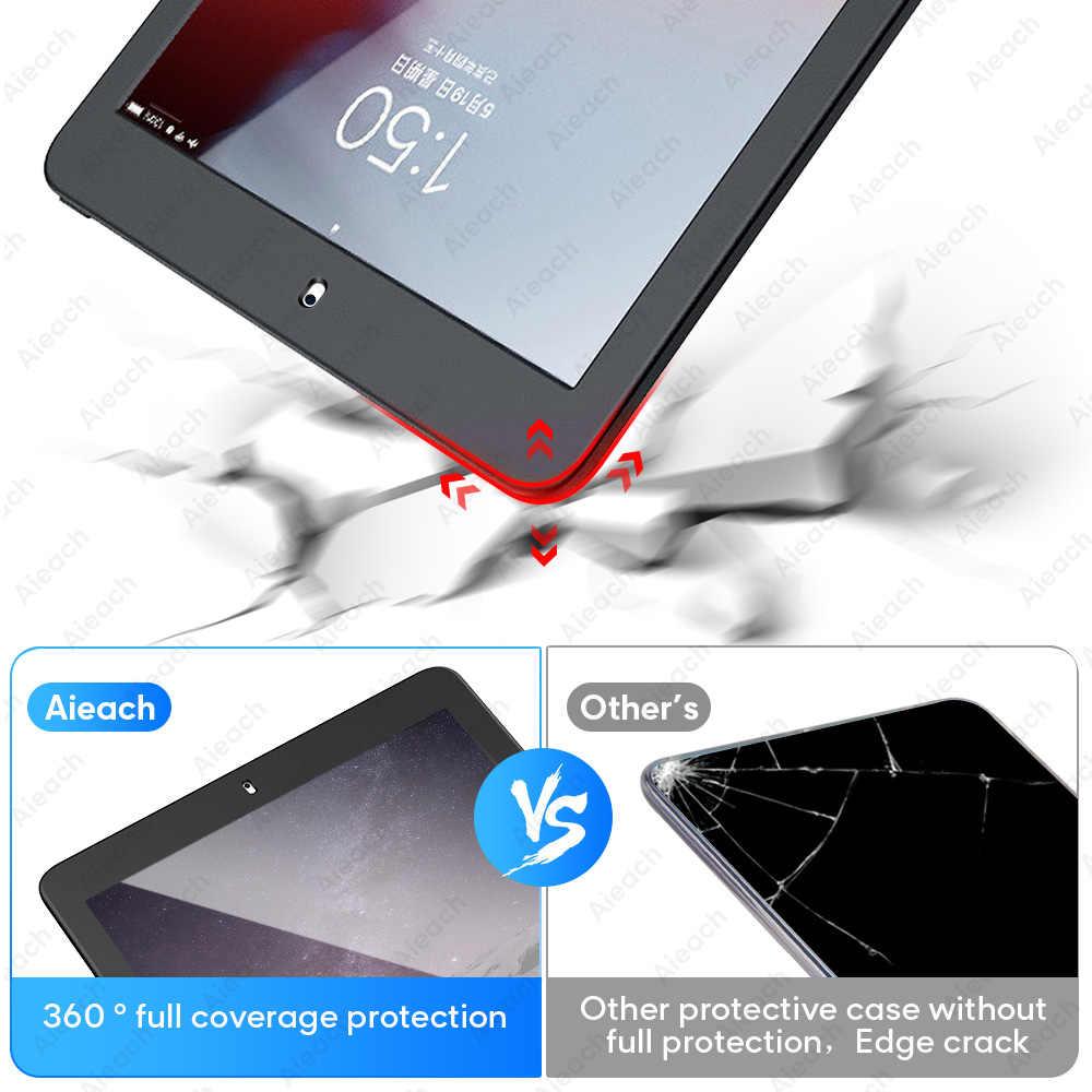 360 Volledige Cover Case Voor Ipad 2 3 4 Case Met Gehard Glas Ultra Dunne Zachte Siliconen Shockproof Funda Voor ipad 3 4 2 Case