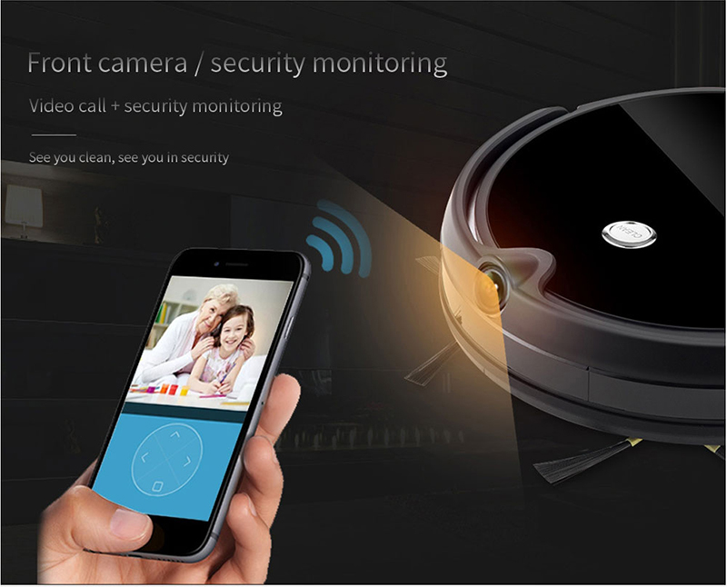 Ha8d7840b9810402aa3ab93b6463160651 IMASS A3S Robot Vacuum Cleaner Powerful Suction For Camera Navigation Various Cleaning Mode With APP Control Auto Charge Mopping