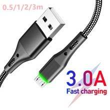 Usb-Cables Microusb Charger Huawei-Accessories Mobile-Phones Fast-Charging Xiaomi Redmi
