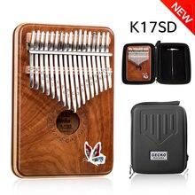 Пианино для большого пальца gecko kalimba k17sd 17 клавиш импортное