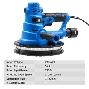 Image 3 - 750W Drywall Sander 230V Wall Polishing Machine Grinding Portable Led Light 610 2150/min Wall Putty Polisher Machine  PROSTORMER