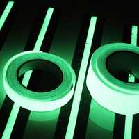1pc 10M * 10mm Luminous Tape Self-adhesive Glow In Dark Safety Stage Home Decorations Brand New