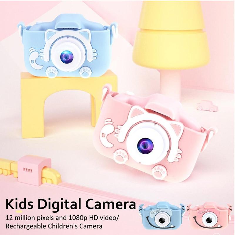x8 2 0 inch Screen Kids Camera Mini Digital 12MP Photo Children Camera with 600 mAh Innrech Market.com