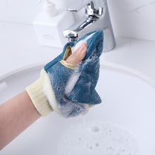 Bath Golves Wash Cloth Shower Scrubber Back Scrub Exfoliating Body Massage Sponge Blistering Foaming Soft Touch Good Quality