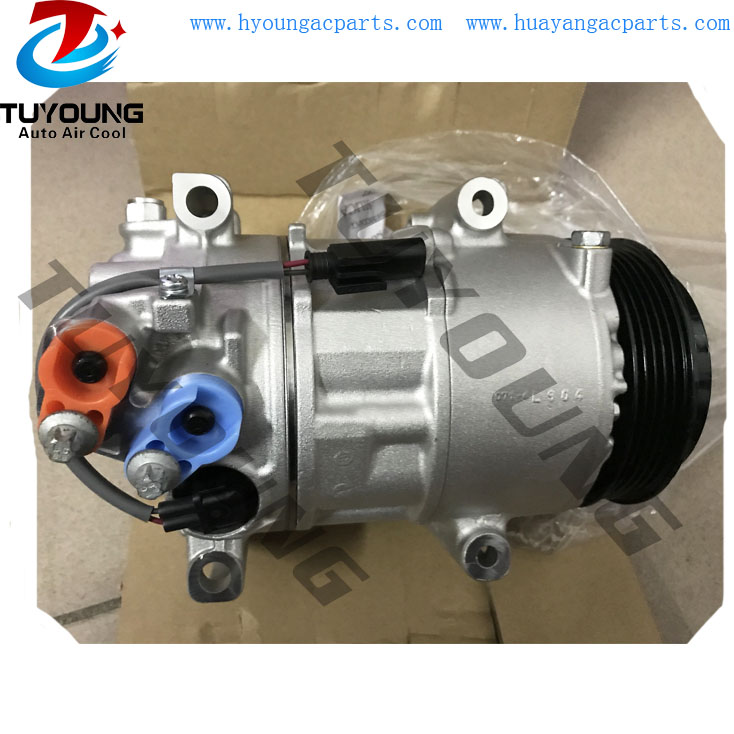 6SEU16C automotive air conditioning compressor for Mercedes Benz <font><b>B</b></font>-Class <font><b>B</b></font> <font><b>180</b></font> A0012309011 0022301311 0022304711 0022303611 image