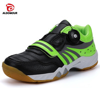 ALDOMOUR 2020 Badminton Shoes Professional Sport Shoes Breathable Anti Slippery Sport Shoes for Men Women Sneakers 1818
