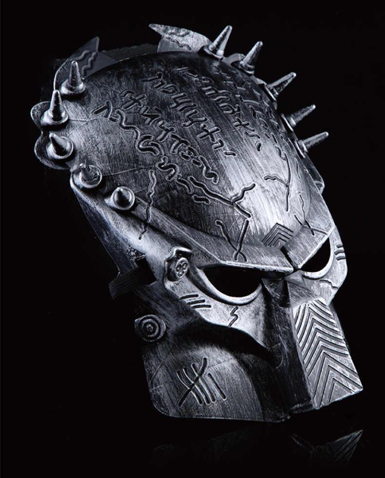 1PC Halloween oggetti di Scena di Film A Tema Predator Maschera AVPR Lone Wolf Mascherina Del Partito KT 009