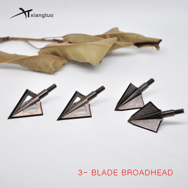 1pcs 125gn-150gn Broadheads Arrows Tips Arrow Heads for Archery Hunting Apply to Composite bow and <font><b>Crossbows</b></font> and Recoil Arrow image