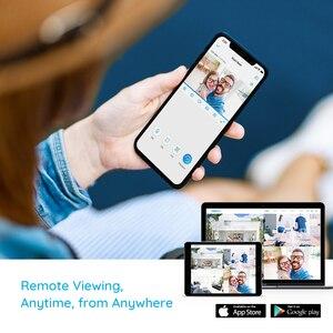 Image 5 - Reolink 5MP תינוק צג 3x זום אופטי מצלמה 2.4G 5G WiFi מצלמה פאן & להטות מיני מקורה בית מעקב IP מצלמה E1 זום
