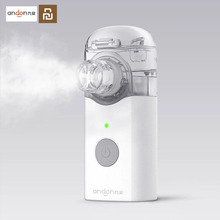 Youpin Jiuan Andon Mini nebulizador atomizador portátil, inhalador de mano, respirador para niños y adultos, para tratar la tos