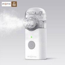 Youpin Jiuan Andon Tragbare Micro zerstäuber Zerstäuber Mini Handheld Inhalator Atemschutz für Kinder und Erwachsene Husten Behandeln