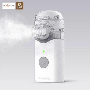 Image 1 - جهاز الاستنشاق الصغير القابل للحمل من Youpin Jiuan Andon جهاز الإستنشاق صغير محمول باليد جهاز التنفس للأطفال والكبار علاج السعال