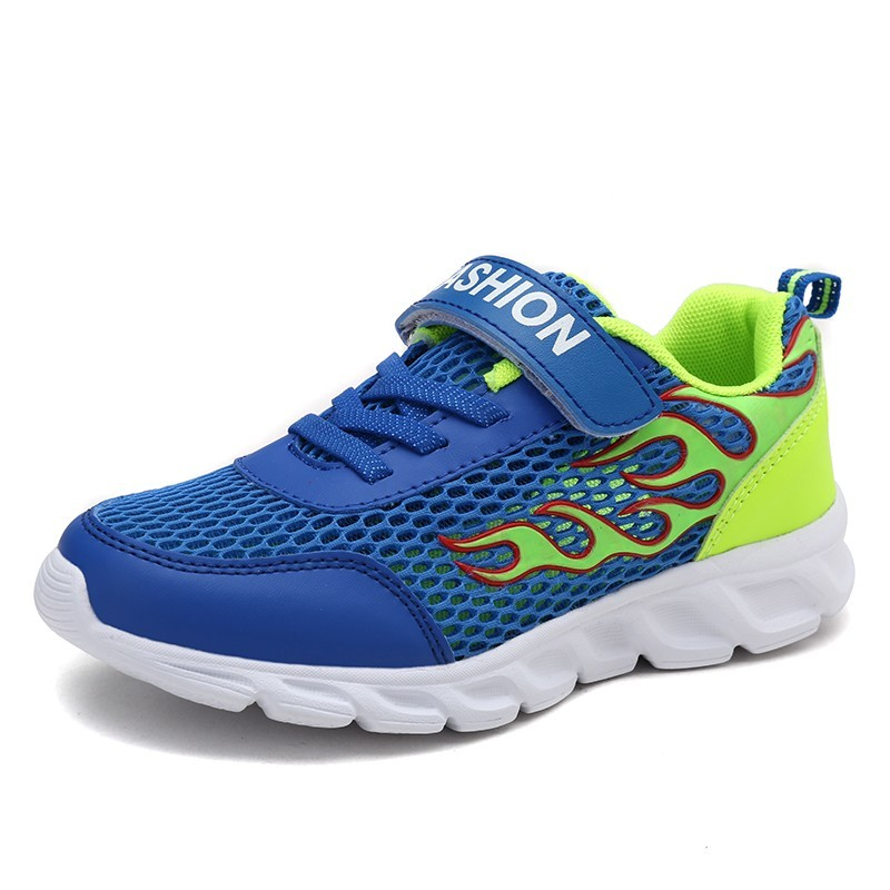 Children Sport Running Shoes Boys Sneakers Spring Autumn Fashion Breathable Anti-Slippery Comfortable Casual Footwear Big Kids