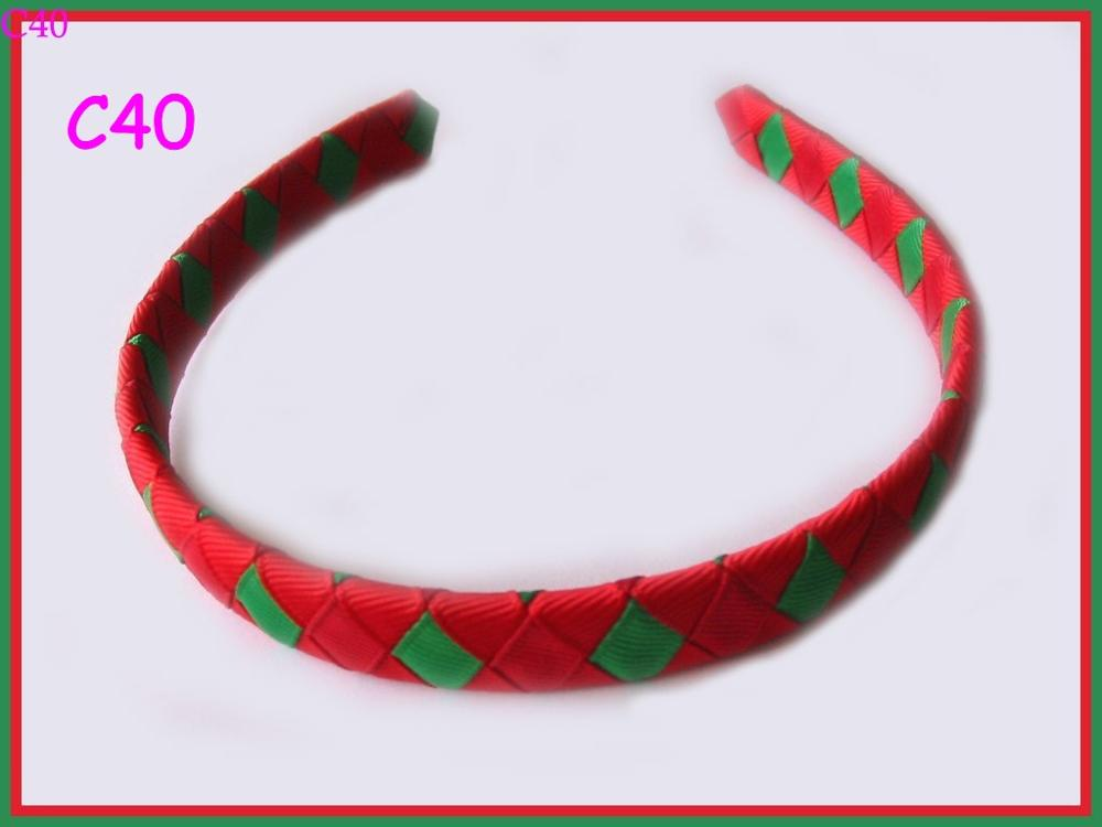 140 шт Рождественский бант для волос карамельный тростник бант Санта заколка для волос оленьи рожки на ободке слоистые милые банты