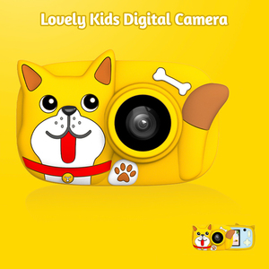 Image 3 - Mini Cartoon Kids Digital Camera 26MP 1080P Video Camera Camcorder 2.4 Inch IPS Screen Dual Camera Lens Shockproof  for Children