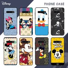 Mickey Mouse Cute Duck Phone Case For Samsung S8 S9 S10e S20 S21 S30 PLUS Note 20 Ultra Coque Cover
