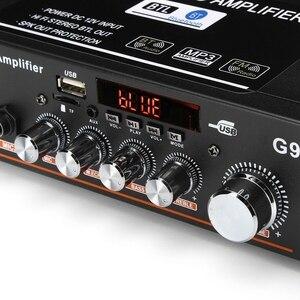 Image 5 - 12V/220V/110V 360W Bluetooth Stereo Mini Amplificador Audio Power Amplifier FM SD HIFI 2CH AMP Audio Music Player for Car Home