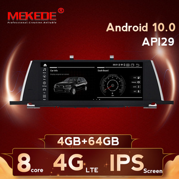 MEKEDE 4G LTE 8 Core proce 10.25 inch Android 10 Car video gps  player for BMW 5 Series F07 GT with IPS screen support OBD2