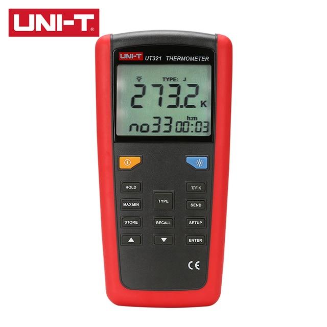 Контактный двухканальный термометр контактного типа,  2