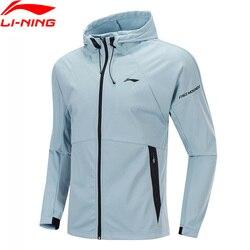 Li-ning-Sudadera con capucha para hombre de la serie li-ning, confort deportivo con forro Li Ning, prendas de vestir de un solo uso, AWDP425 MWW1609