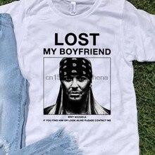 Incrível perdeu meu namorado bret michaels se você encontrá-lo ou olhar camisa