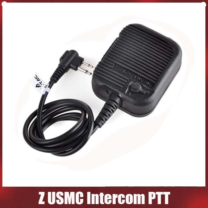 Тактическая гарнитура Z126 zUSMC Intercom PTT, тактическая гарнитура, аксессуары для телефона-0