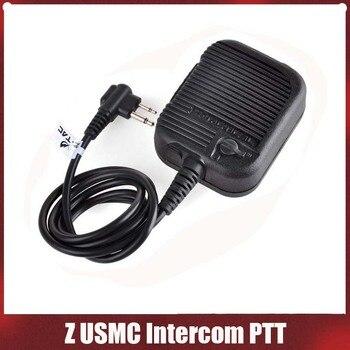 Тактическая гарнитура Z126 zUSMC Intercom PTT, тактическая гарнитура, аксессуары для телефона