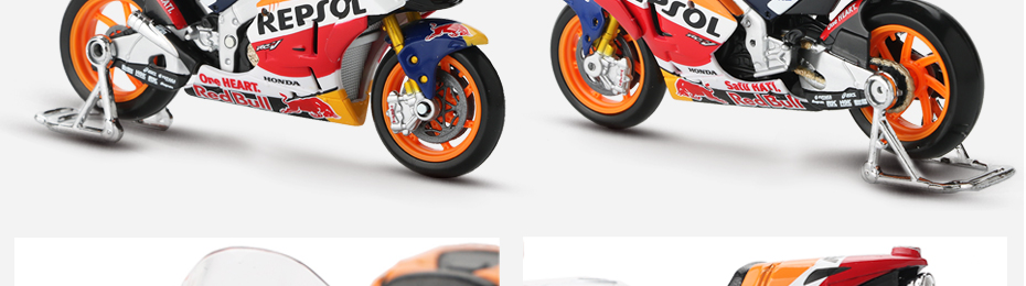 Moto GP Racing Motorcycle Toy Model Collection 34