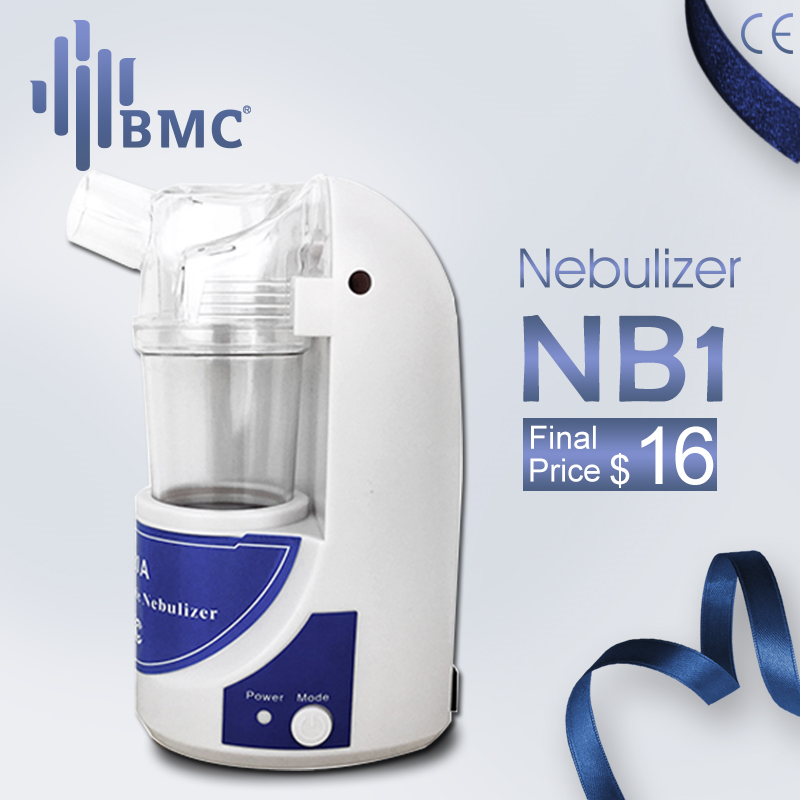 BMC NB1 Home Health Care Ultrasonic Portable Atomizer Mini Nebulizer Children Care HandheldAirway Inhale Humidifier Nebulizer