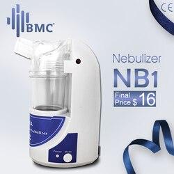 Bmc nb1 casa cuidados de saúde ultra sônica atomizador portátil mini nebulizador crianças cuidados com as vias aéreas handheld inalar umidificador nebulizador