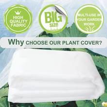 Capa de planta quente saco de proteção de plantas quintal jardim inverno proteção cobre anticongelante protetor de jardim não tecido