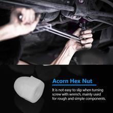Insert Nut M3  M5 M6 M8 M10 M12 Nylon Plastic Acorn Hex Nuts White