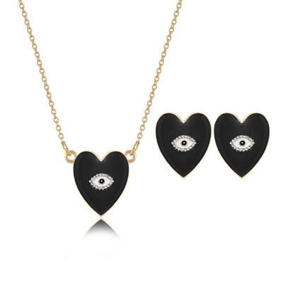 AOMU Heart Eye Stud Earring...