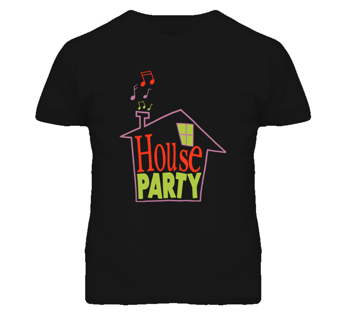 House Party 90s Movie Kid N Play T Shirt Short Sleeve Tee Shirt Free Shipping cheap wholesale image