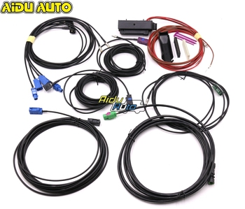 AIDUAUTO USE FOR VW NEW Touareg Audi A6 C8 Q8 Cayenne 9Y0 E3 360 Environment Rear Viewer Camera Harness cable wire
