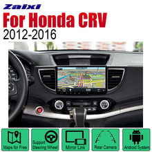 ZaiXi Auto Radio 2 Din Android Car Player For Honda CRV 2012~2016 GPS Navigation BT Wifi Map Multimedia system Stereo