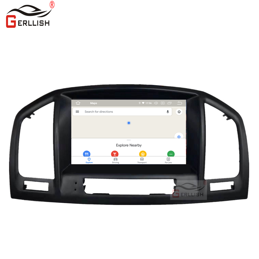 Android 2GB + 32GB GPS Radio For Opel Vauxhall Insignia DVD Player Navigation Touch Screen Multimedia Stereos Audio