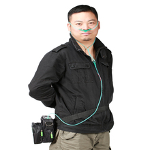 Hot Sale Mini Battery Oxygen Concentrator Car Outdoor  Home Use Oxygen Generator Powered by Car Adapter and Lithium Battery