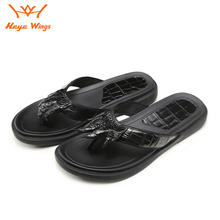 Personalized Ins Slippers High Quality Unisex Sandals Genuine Crocodile Leather Pure Patural Rubber Sole Flip Flops