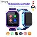 4G детский Трекер Смарт-часы водонепроницаемый удаленный мониторинг WIFI GPS LBS позиционирование WCDMA GSM видео чат ребенок SIM телефон часы T3