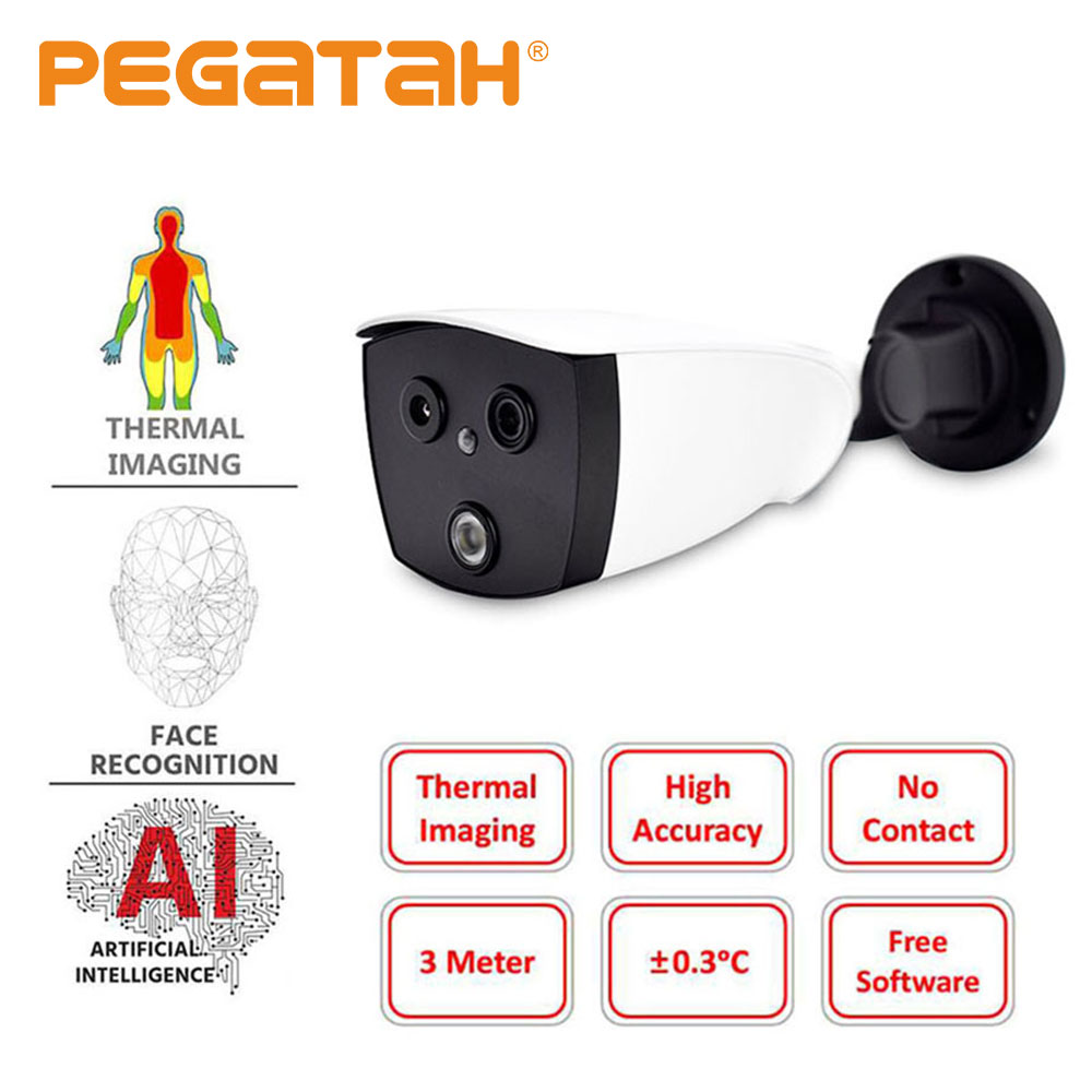 Thermal Camera IP Camera Ir AI Human Body Temperature Camera Thermal Imager Camera For Fever Detection With Alarm