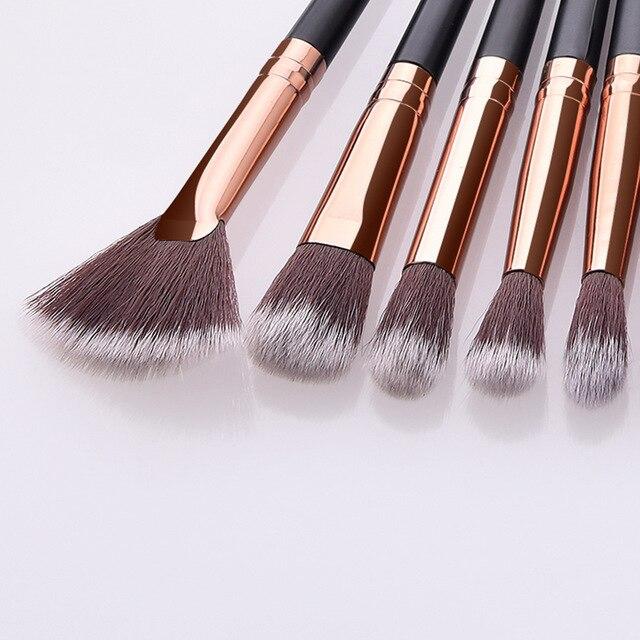 Makeup Brushes Set 3/5/12pcs/lot Eye Shadow Blending Eyeliner Eyelash Eyebrow Make up Brushes Professional Eyeshadow Brush 4