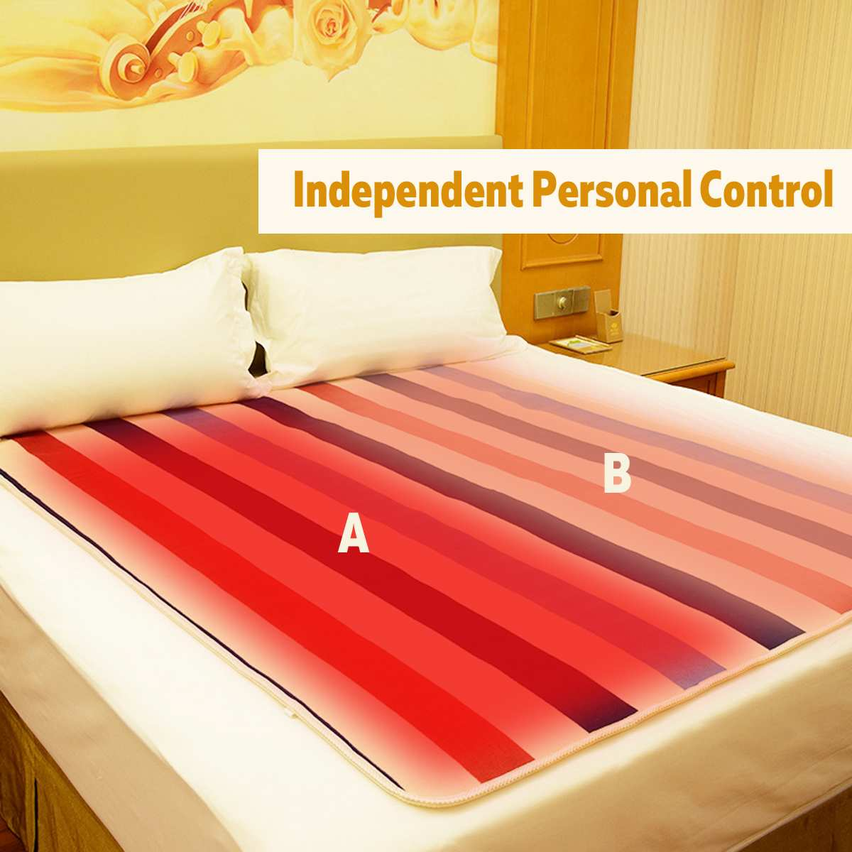 220V Automatic Electric Heating Thermostat Throw Blanket Double Body Warmer Bed Mattress Electric Heated Carpets Mat