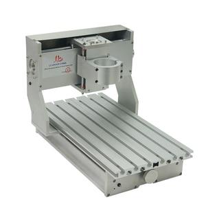 Image 2 - מיני DIY CNC מכונת CNC 3020 מסגרת קידוח מכונת הטחינה עבור תחביב תכליתי 65mm ציר ללא מנוע