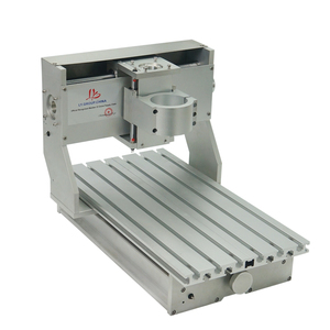 Image 2 - 미니 diy cnc 기계 cnc 3020 프레임 드릴링 및 밀링 머신 취미 목적 65mm 스핀들 모터없이