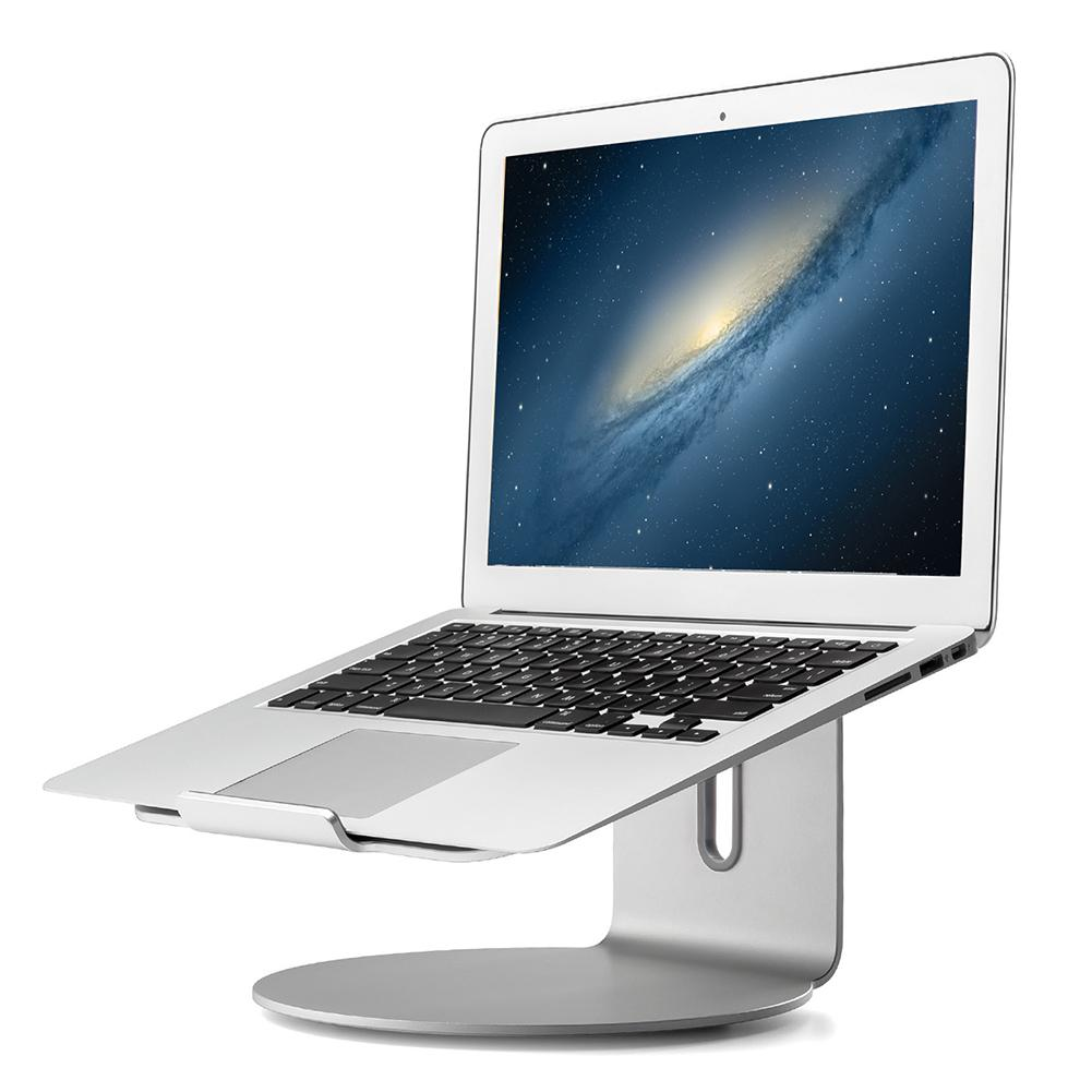 360 Degree Rotating Laptop Stand Aluminum Alloy Notebook Holder Cooling Computer Mount For Apple MacBook Air MacBook Pro Noteb